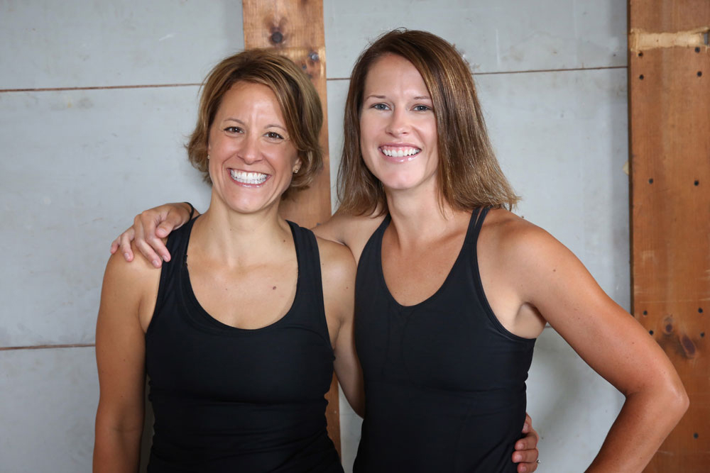 Marla and Meg cazenovia community fitness - About